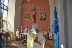 Освячення каплиці у Тиврові