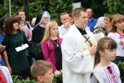 Священницькі свячення та приміційна Служба Божа о. Вадима Дороша ОМІ в м. Бар