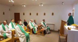 У Обухові,  відбулася зустріч священиків Білоцерківського деканату Київсько-Житомирської дієцезії.