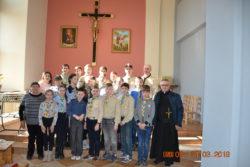 Католицькі скаути Європи у Тиврові
