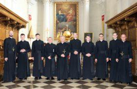 Святий Хрест ( Польща): Нові монахи та новіції нашого Згромадження
