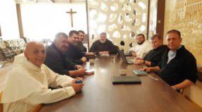 Зустріч конференції вищих настоятелів і чоловічих інститутах богопосвяченого життя