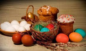 Благословення великодних страв в неділю Господнього Воскресіння