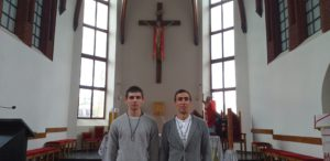 Прийняття облатського хрестика в гніванському Санктуарії св. Йосифа