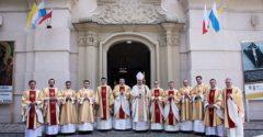 Свячення у Вищій Духовній Семінарії в Обрі