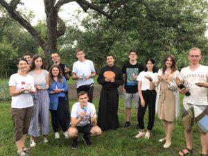 Дні зосередження молоді з Києва (парафії святого Миколая) у Чернігові.