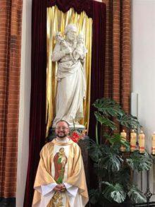 Місіонер з Іспанії у гвіанському Санктуарії святого Йосифа