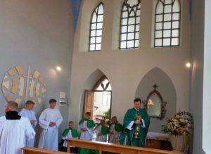 Посвячення каплиці  Адорації Пресвятих Дарів у гніванському Санктарії святого Йосифа