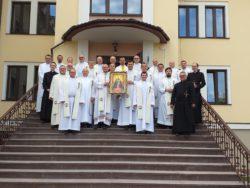 Зустріч місіонерів облатів з України та Росії в Обухові