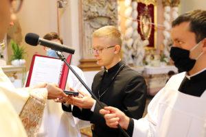 Вічні монаші обіти у Облатів – семінарист Лукаш Орловцький ОМІ