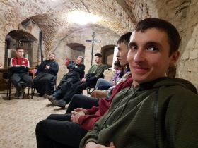 Зустріч молоді 18+ у Молодіжному центрі святого Йоана Павла ІІ у Тиврові