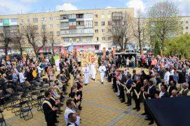 Перше Всеукраїнське паломництво чоловіків до Санктуарію св. Йосифа у Гнівані.