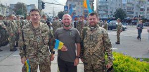 Місіонер Облат взяв участь у Марші Захисників України