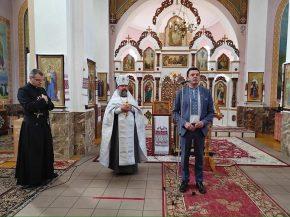Екуменічний молебень у намірах України в Тиврові