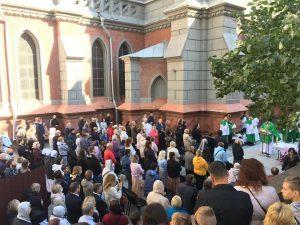 Молитовне стояння у намірі повернення храму святого Миколая у Києві