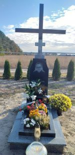Освячення надгробної плити на могилі брата Яна